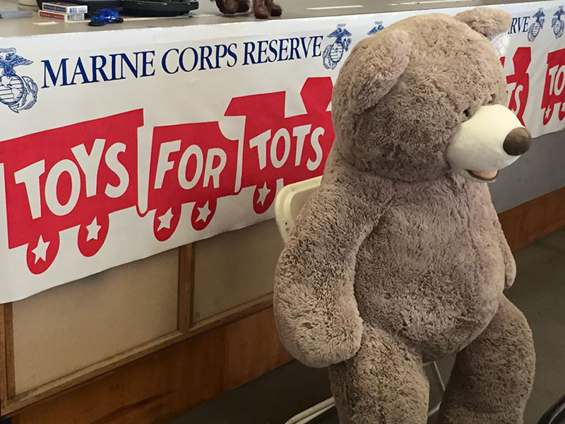 Toy's For Tots Curtis Parry