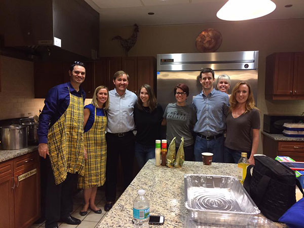 Curtis Parry Ronald McDonald House volunteering community